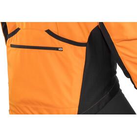 Löffler San Remo WS Veste de cyclisme zippée en softshell Homme, orange